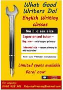 Beginner and intermediate writing classes Rochedale Brisbane South East Preview