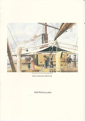 P&O CANBERRA - PENCILLINGS LUNCHEON MENU 22ND JUNE 1994