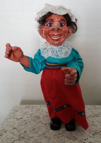Vintage Rare 1976 F. Katzenberger W. Frank Dorf Doll Old Lady Ugly Scary #3