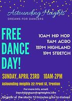 FREE DANCE DAY! Join us!