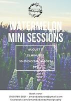 Watermelon mini sessions - photography