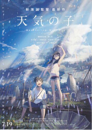 WEATHERING WITH YOU:Makoto Shinkai - Original Japanese  Mini Poster Chirashi