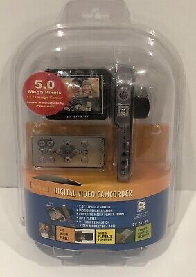 Vupoint DV-DA1-VP Digital Video Camcorder5MP 8x Multi-function Remote Black (Multifunction Digital Video)