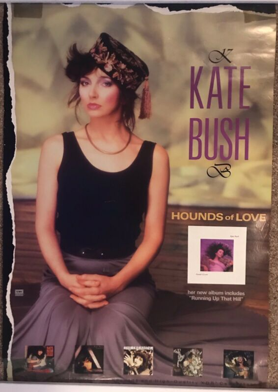 Kate Bush - Hounds of Love Poster 24x36