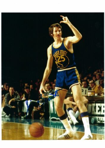 JIM BARNETT AUTO AUTOGRAPHED 8X10 PHOTO SIGNED W/COA GOLDEN STATE WARRIORS 4
