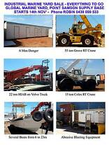 INDUSTRIAL MARINE YARD SALE - EVERYTHING TO GO Point Samson Roebourne Area Preview