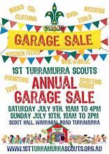 1st Turramurra Scout Group Huge Annual Garage Sale Turramurra Ku-ring-gai Area Preview