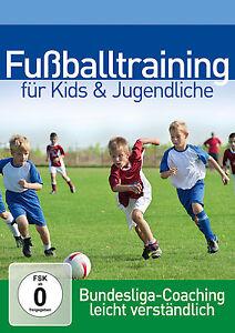 DVD Fußballtraining Für Kids und Jugendliche Professionelles Bundesliga Coach