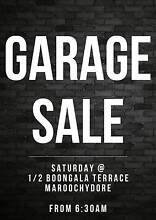 GARAGE SALE 1/2 Boongala Terrace Maroochydore Scarness Fraser Coast Preview