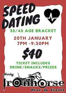 MYM Speed Dating 35/45 Launceston Launceston Launceston Area Preview