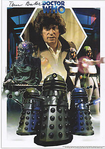 DR-WHO-personally-signed-12x8-TOM-BAKER-DALEKS-a