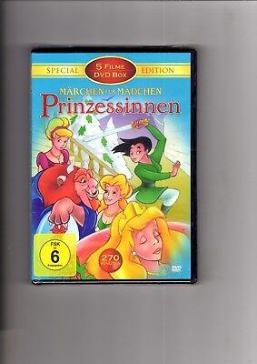 Märchen für Mädchen - Prinzessinnen - 5 Filme / DVD 23770