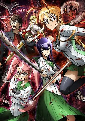 High School Of The Dead  Anime  Episodes 1 12 In English Audio Dvd