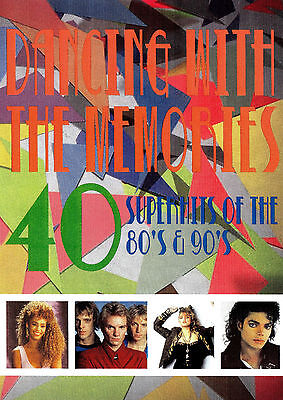 Dancing With The Memories 40 Superhits Music Videos Dvd Pop 80S 90S Video