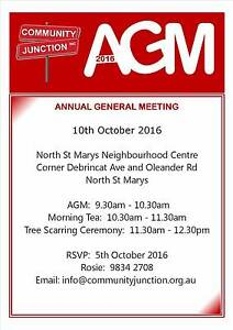 Annual General Meeting North St Marys Penrith Area Preview