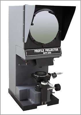 Radical Profile Projector Optical Comparator Digital Inch Mm Measuring Microm...