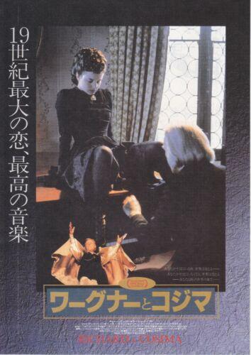 RICHARD & COSIMA- Original Japanese  Mini Poster Chirashi