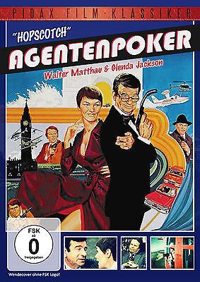 Agentenpoker Hopscotch * DVD Komödie Walter Matthau Pidax Neu