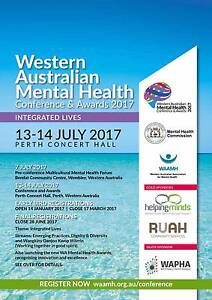WA Mental Health Conference and Awards 2017 Perth Perth City Area Preview