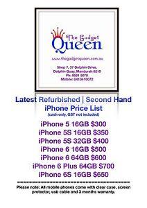 Second Hand | Refurbished iPhone 5 iPhone 5s iPhone 6 6 Plus 6S Mandurah Mandurah Area Preview