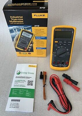 Fluke 87v 87-5 Industrial True-rms Multimeter W Temperature 2074974
