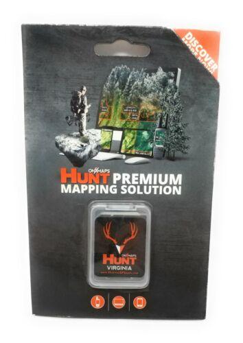 onXmaps HUNT GPS Chip for Garmin Units+1Year Premium Membership, Virginia 209011