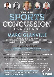 TICKETS -  LUNCHEON WITH RUGBY LEAGUE STARS (HMRI EVENT)