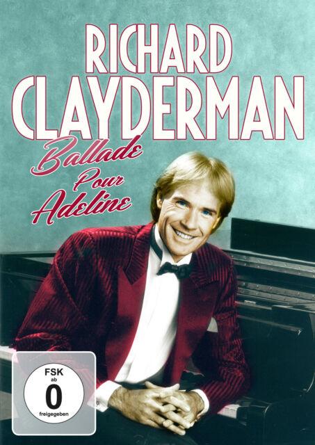RICHARD CLAYDERMANN Ballade Pur Adeline (DVD) Neu