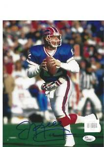 NFL Buffalo Bills Jim Kelly #12 QB Autographed Picture 8