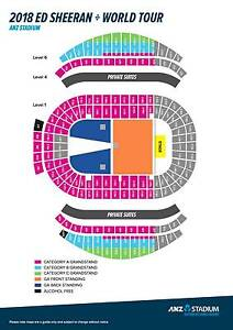 WANT/NEED 2 ED SHEERAN TICKETS GA STANDING OR A RESERVE SITTING!! Sydney City Inner Sydney Preview