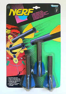 Vintage Tonka Kenner NERF Mini ARROW Pack for Pocket Rocket MOC 1993