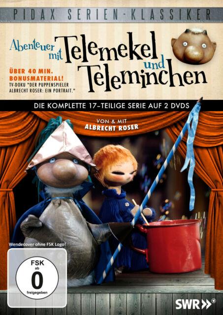 Telemekel und Teleminchen * DVD Serie Kultserie Albrecht Roser Pidax Neu Ovp