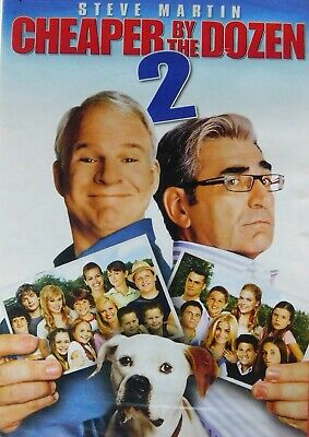 CHEAPER BY the DOZEN 2 (2005) Steve Martin Eugene Levy Bonnie Hunt Hilary (Bonnie Hunt Cheaper By The Dozen 2)