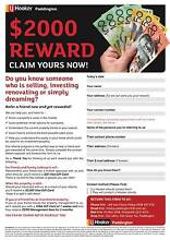 $2000 Cash! Selling your home or know someone who is? Call us now Bardon Brisbane North West Preview