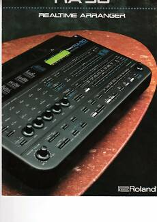 ROLAND RA90 MIDI SOUND MODULE  REAL TIME ARRANGER
