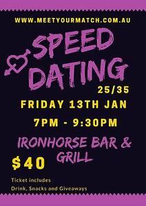 25/35 Speed Dating Launceston Launceston Area Preview