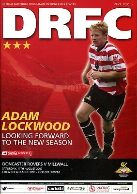 B39 Doncaster Rovers v Millwall 11/08/07 League 1