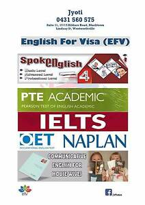 English For Visa - PTE IELTS General English (2 Demo classes) Blacktown Blacktown Area Preview