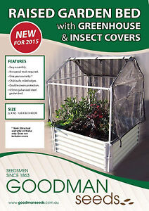 Raised garden bed with greenhouse insect covers gardening Raised garden bed covers