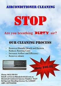 Off Peak Electrical (Airconditioner Cleaning in Logan City) Springwood Logan Area Preview