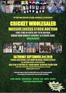 Cricket Auction (Perth) Forrestfield Kalamunda Area Preview