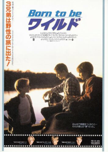 WILD AMERICA- Original Japanese  Mini Poster Chirashi