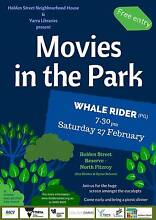North Fitzroy - Movies in the Park - Whalerider Fitzroy North Yarra Area Preview