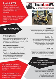 TracklinkWA: Plant hire and operator solutions