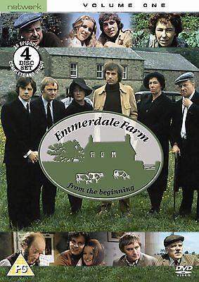 (EMMERDALE FARM volume 1 Vol. one. Four discs. Brand new sealed DVD.)
