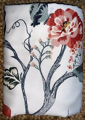 IKEA JÄTTELILJA 100% Cotton White On Birds,Floral Embroidery Twin Duvet cover.