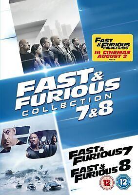 Fast & Furious 7 & 8 [DVD]