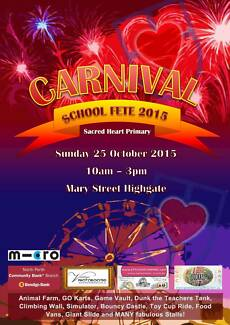 Sacred Heart Primary School - HIGHGATE - School Fete 2015 Highgate Perth City Preview