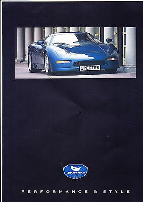 SPECTRE R42 brochure pack - 1997