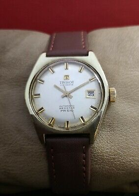 TISSOT PR-516 SEASTAR cal.784-2 AUTOMATIC GP VINTAGE 60's RARE 21J SWISS WATCH.